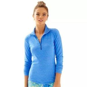Lily Pulitzer Luxletic 1/2 Zip Pullover Women Sz M